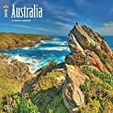 Australia 2018 12 x 12 Inch Monthly Square Wall Calendar, Scenic Nature Wilderness (English, French and German Edition)