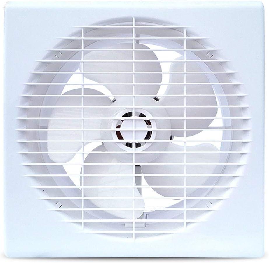 XZJJZ Potente Extractor De Aire Silencioso, De Techo Y De Pared Ventilador De Ventilación Ventana Tipo Ventilador