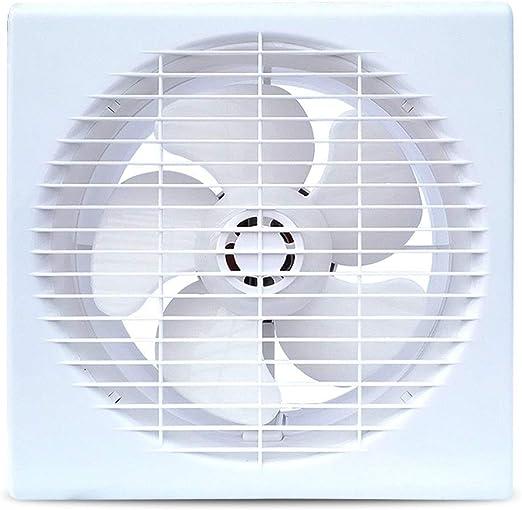 TWDYC Potente Extractor De Aire Silencioso, De Techo Y De Pared Ventilador De Ventilación Ventana Tipo Ventilador: Amazon.es: Hogar