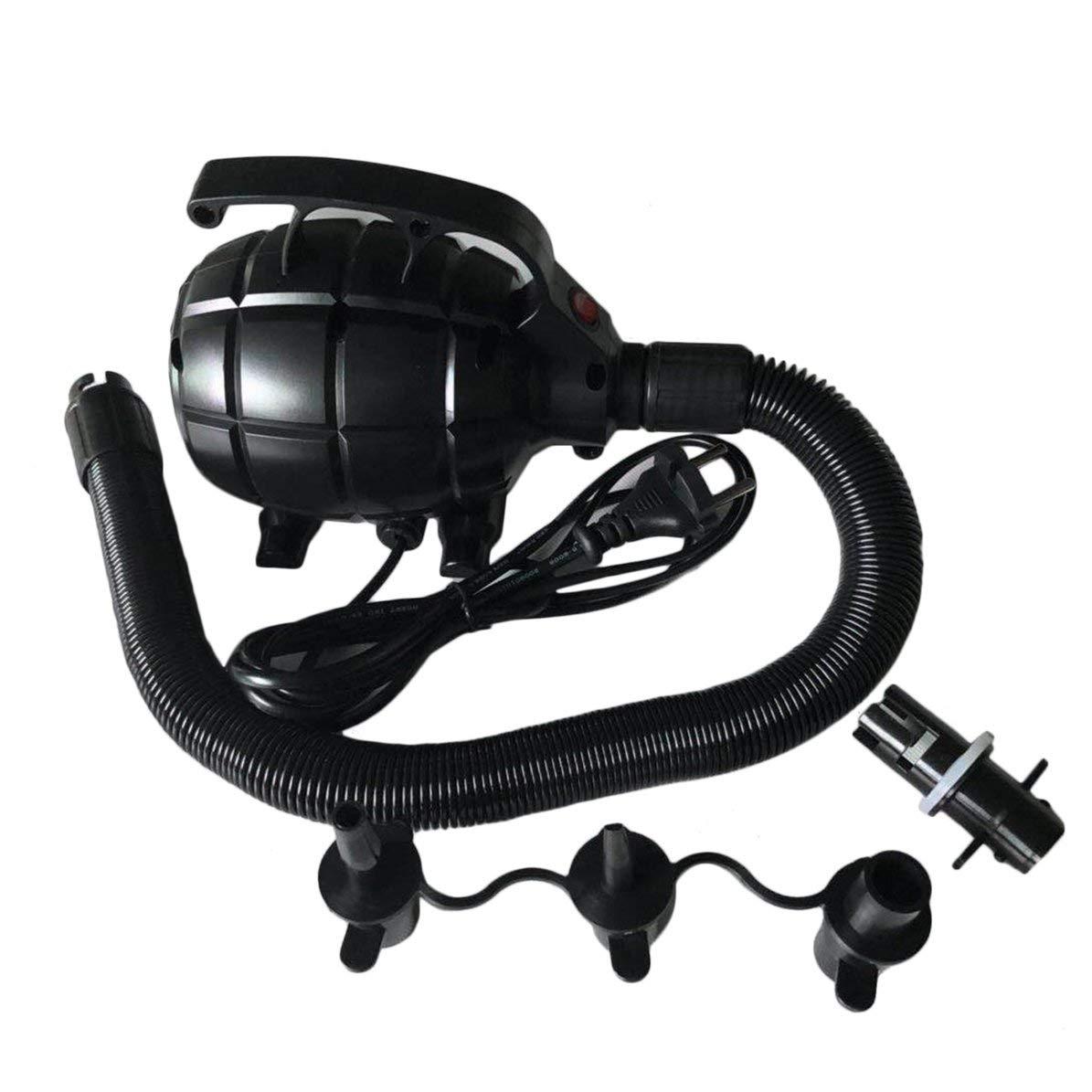 DoMoment Luftkompressor-elektrische Luft taumelnde Bahn-Gymnastik-Pumpen-Gymnastik-Matten pumpen elektrische Luftpumpe