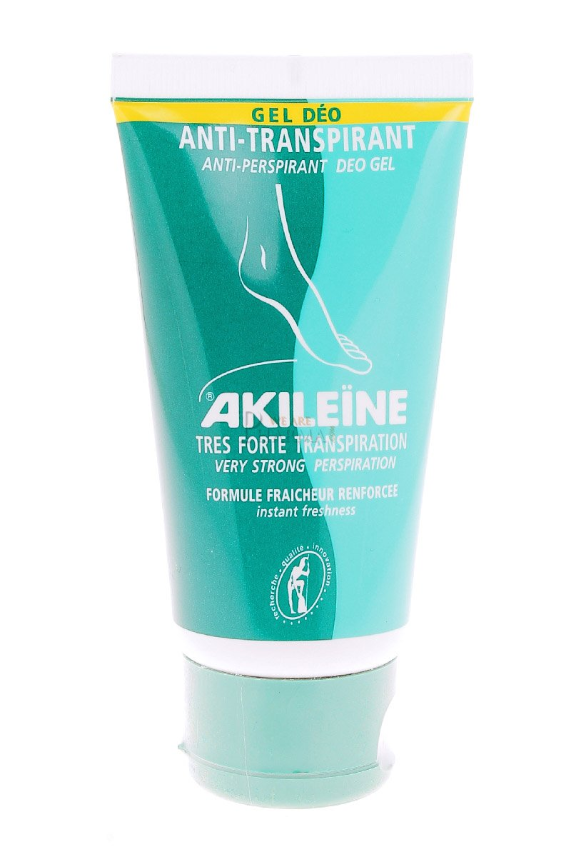 Akileine Antiperspirant Gel 75ml 158A