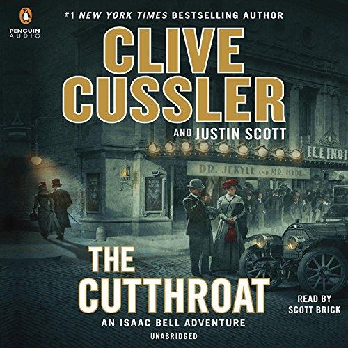 The Cutthroat: An Isaac Bell Adventure, Book 10 cover