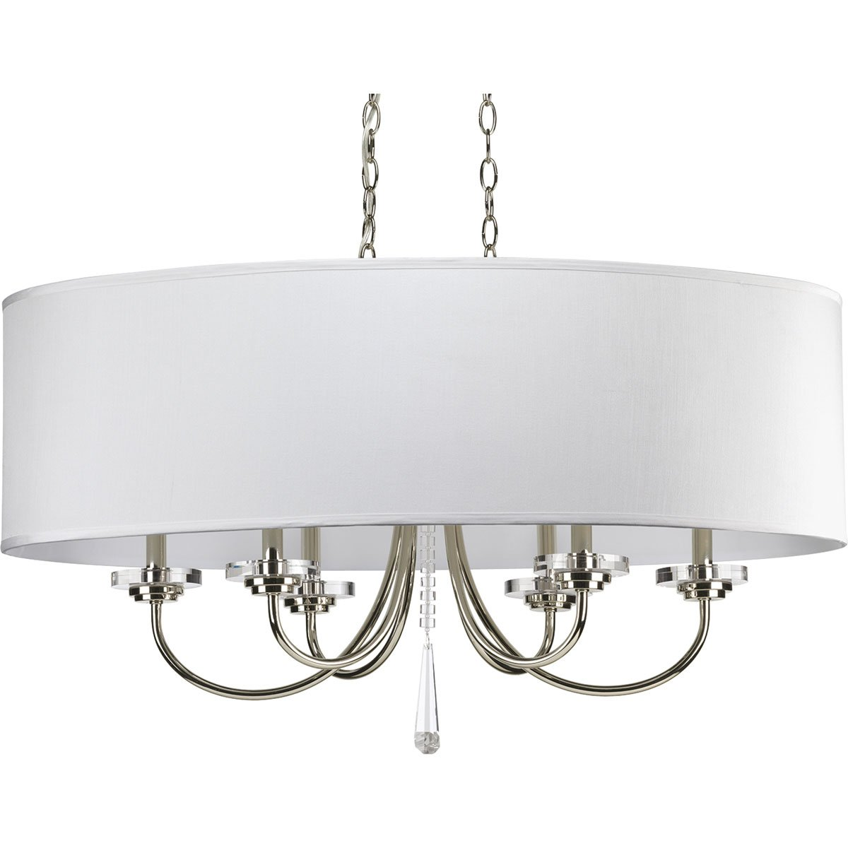 kw chandelier medium polished gild nickel product kelly oval strada in comfort modern wearstler visual