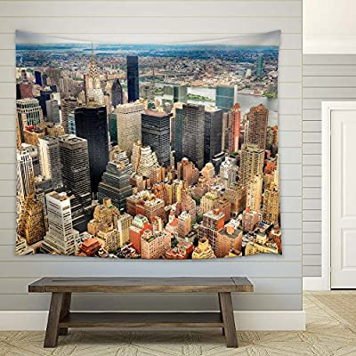 With a Professional Touch, Astonishing Print, New York City Birdview