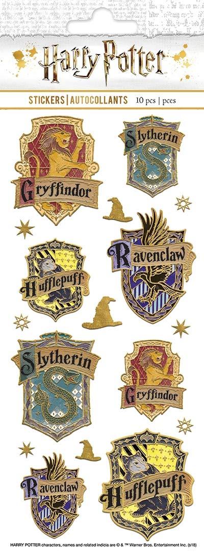 Harry Potter - Paper House Sticky Pix Faux Enamel Stickers