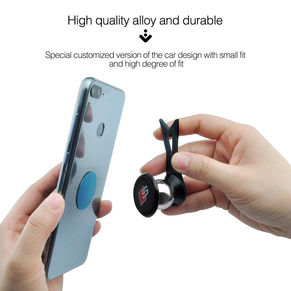 MCWAUTO for Benz A Cell Phone Mount Holder with Adjustable Air Vent Clip Cover Mobile Phone Magnetic Holder