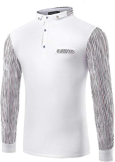 Camiseta De Manga Larga para Hombre Básica Camisa Camiseta ...