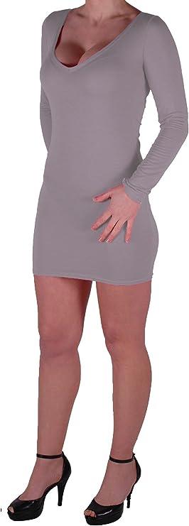 Figurbetontes Stretch Short Frauen Minikleid EyeCatch Rachel Damen Mit V-Ausschnitt