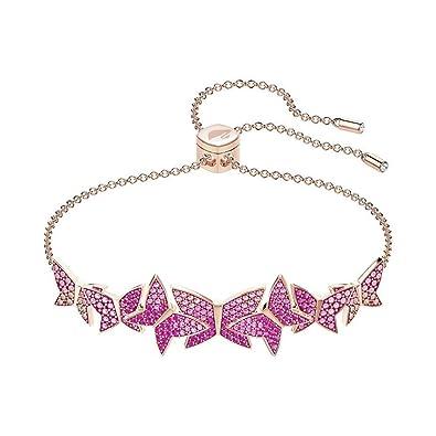 e05b465e4 Swarovski Lilia Bangle Light Multi Armband 5378695 (Lengte: Verstelbaar tot  24 cm): Amazon.co.uk: Jewellery