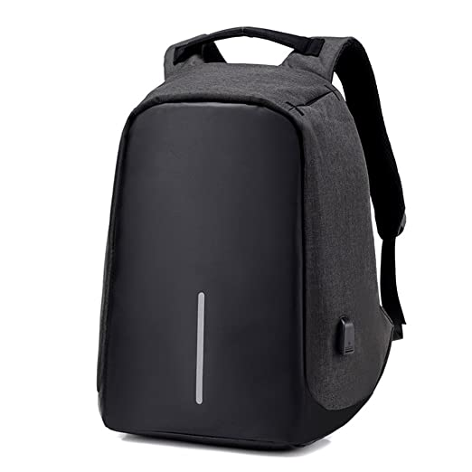49384838d167 Amazon.com  UniquQ Multifunction USB Charging Men 15 inch Laptop Backpacks  For Teenager Fashion Male Mochila Leisure Travel backpack anti Thief  (black)  ...