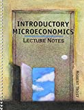 Introductory Microeconomics Lecture Notes 9780757520471