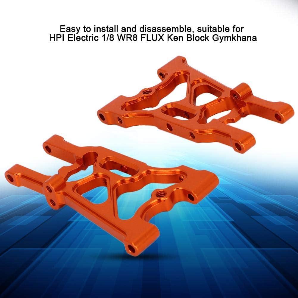 Woyisisi Durable Aluminum Alloy Rear Lower Arm for RC HPI 1//8 WR8 FLUX Ken Block Gymkhana Orange