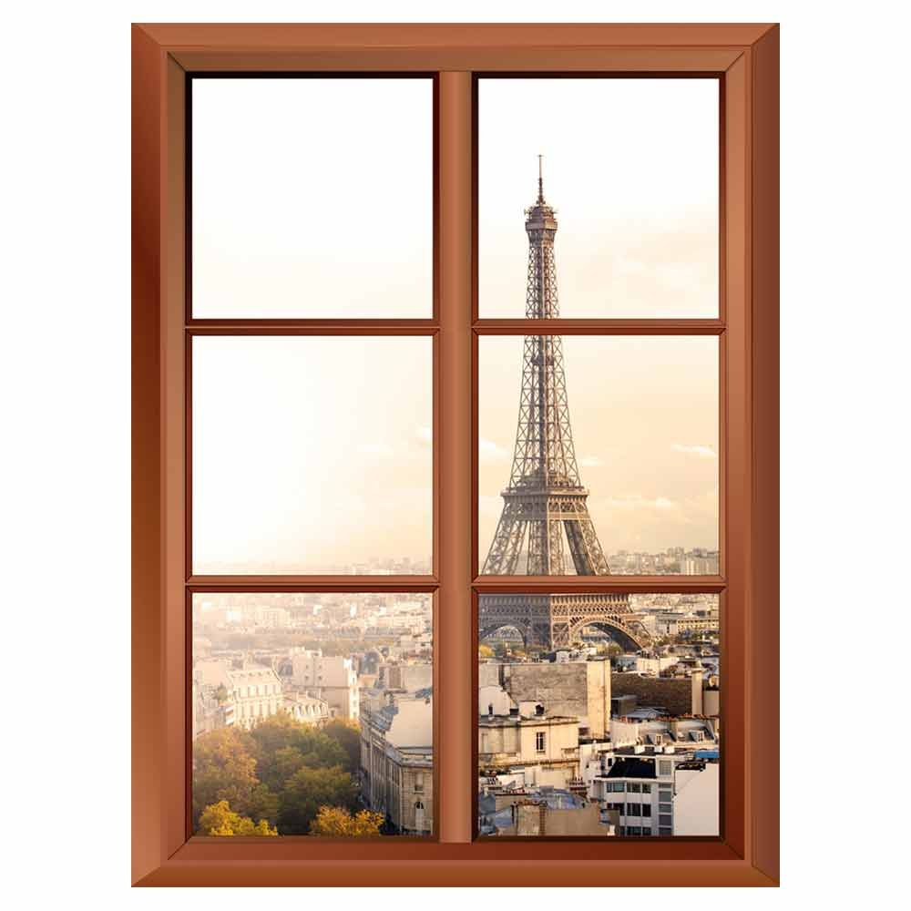 Removable Wall Sticker Wall Mural Eiffel Tower in Paris Creative