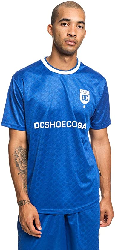 DC Shoes Wicksey - Camiseta de Fútbol de Manga Corta - Hombre ...