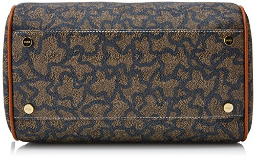 Tous Kaos New Total - Borse Bowling Donna, Multicolore (Nude-jeans), 12x25x29 cm (W x H L)