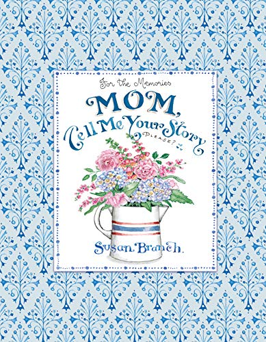 Mom Tell me Your Story - Keepsake Journal (Blue) -