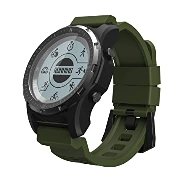 SLOUD Smartwatch GPS Anti-Agua Pulsómetro Pulsera Actividad ...