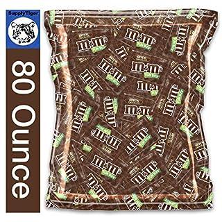 M&M's (5 POUNDS) Candy Box Milk Chocolate Fun Size Office Snacks
