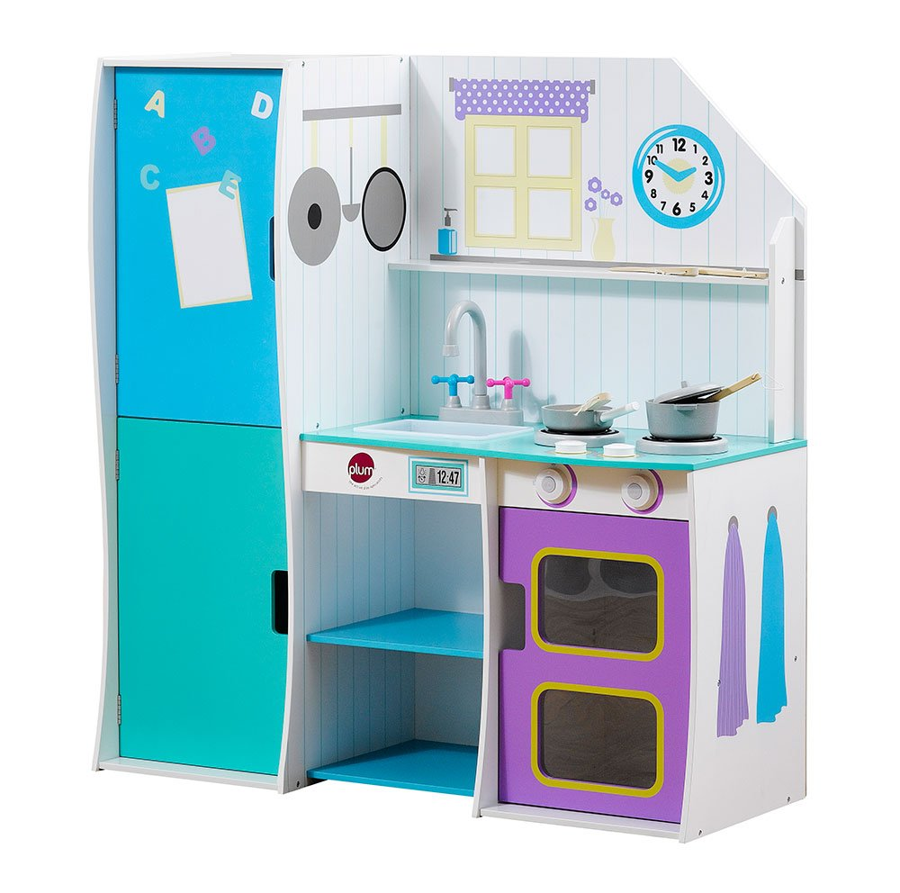 Plum® Products Cook-a-lot Brunch Wooden Kitchen: Amazon.co.uk: Toys ...