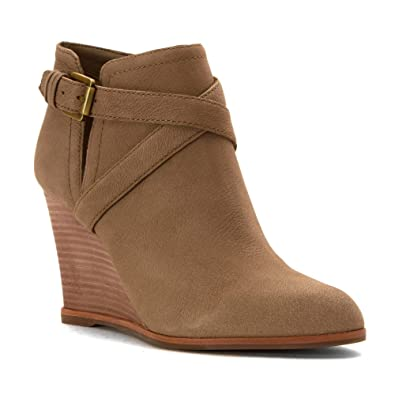 Norfolk Womens Wedge Ankle Boots