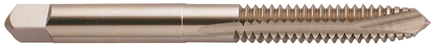 Round Shank with Square End Plug Chamfer 9//16-18 Thread Size H5 Tolerance Steam Oxide YG-1 I9 Series Vanadium Alloy HSS Spiral Pointed Tap