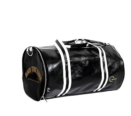 Cuir Gym De Compartiment Imperméable Travel Sac Pour Femmes Sport Bag Quanjie Mini Hommes Avec Weekend Duffel Chaussures Voyage Sacs Et À Pu PXZuki