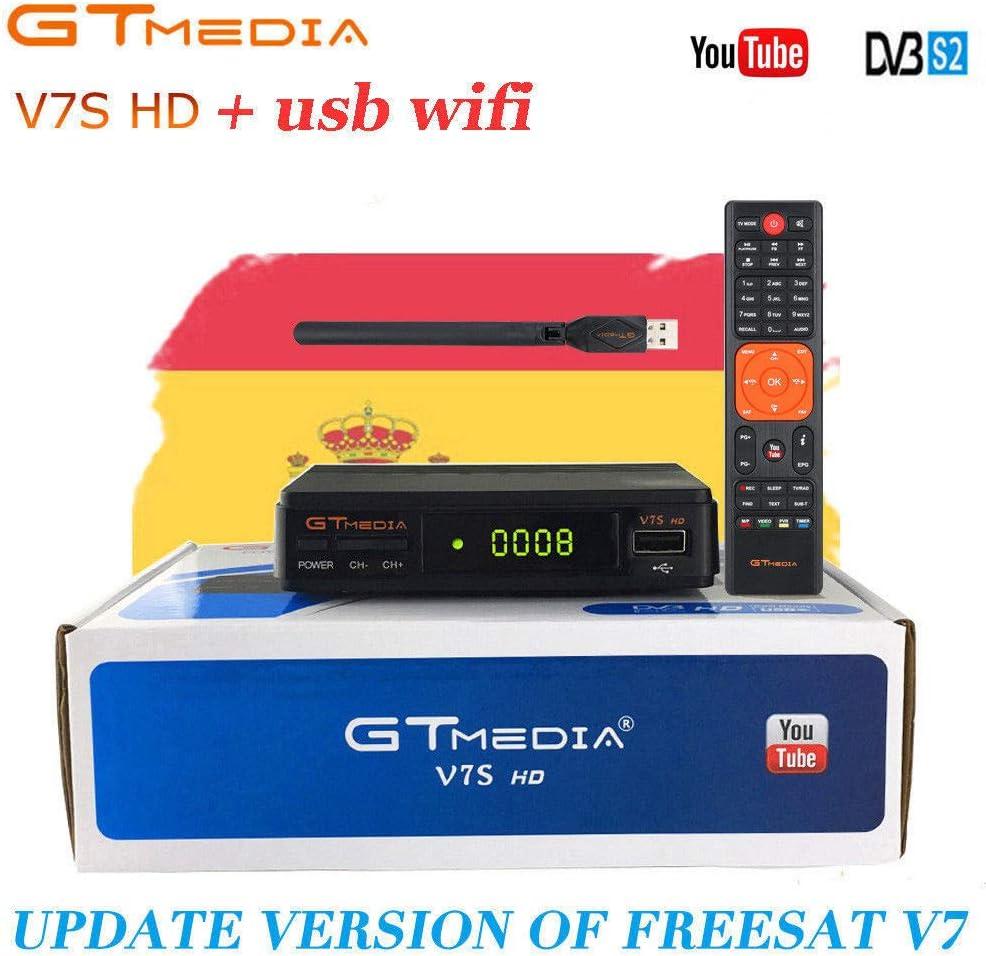MUNDDY - GT Media V7S HD DVB-S2 Digital Receptor de TV por ...