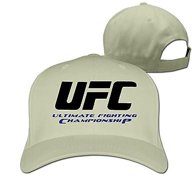 UFC Ultimate Fighting Championship Logo Baseball Hat Unisex Black ...
