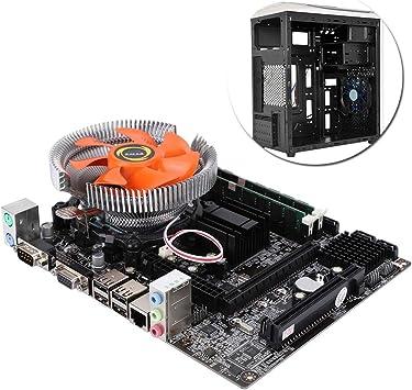 Placa base de cuatro núcleos para PC (Socket LGA 771/775, 2 × DDR3 ...