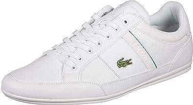 2172eb96504 Lacoste Chaymon 219 1 CMA White Green  Amazon.fr  Chaussures et Sacs