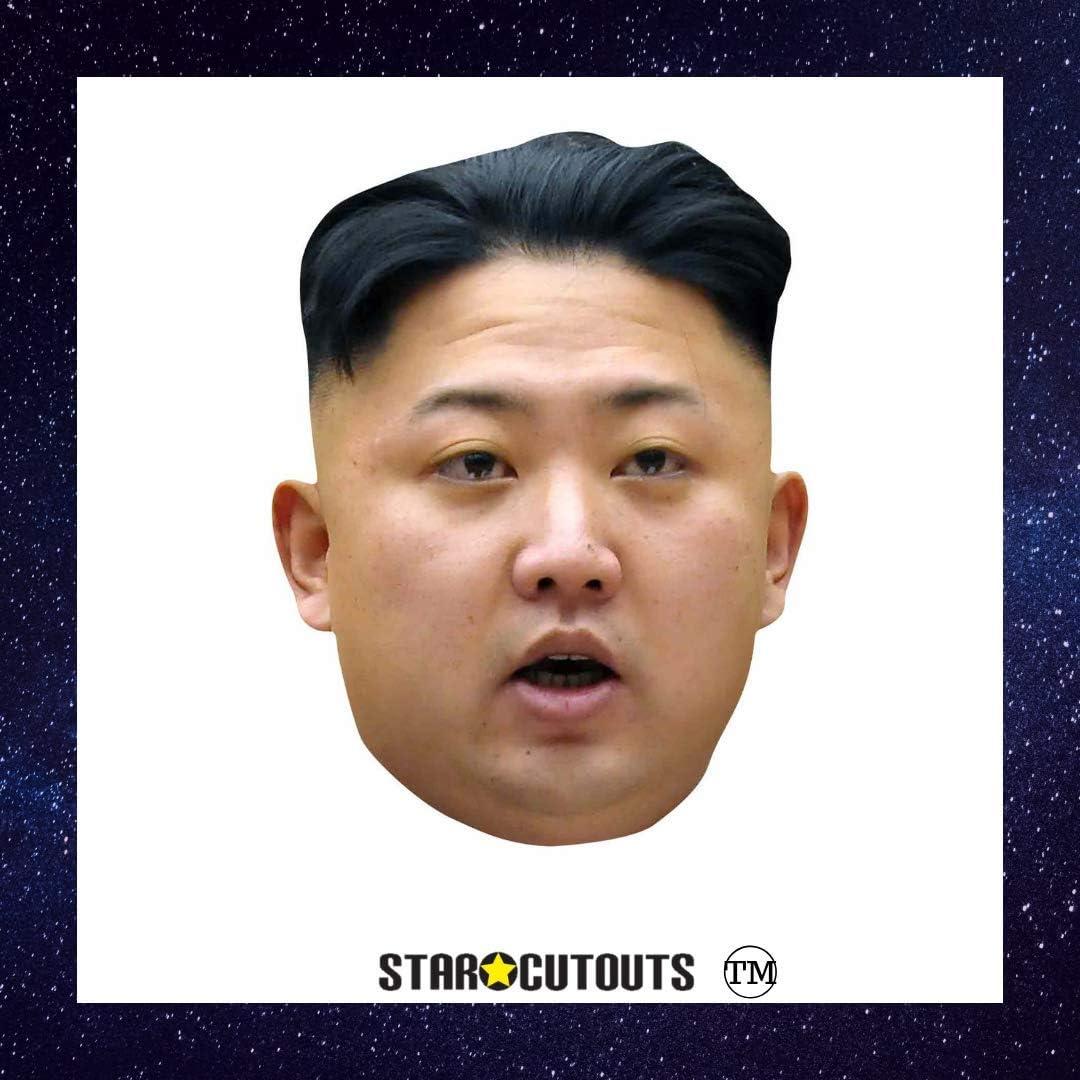 Close Up Kim Jong-Un - Máscara de Fiesta: Amazon.es: Juguetes y juegos