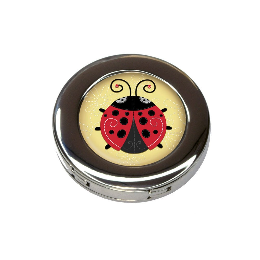 Cute Ladybug Foldable Retractable Purse Bag Handbag Hook Hanger Holder by Made on Terra (Image #1)