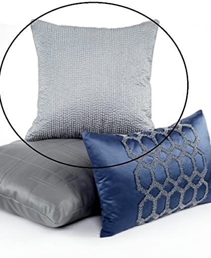 Amazon Hotel Collection Quadre Blue 40 Square Decorative New Hotel Collection Decorative Pillows