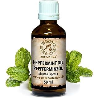 Aceite de Menta 50ml - 100% Puro y Natural - Menta Piperita - de AROMATIKA