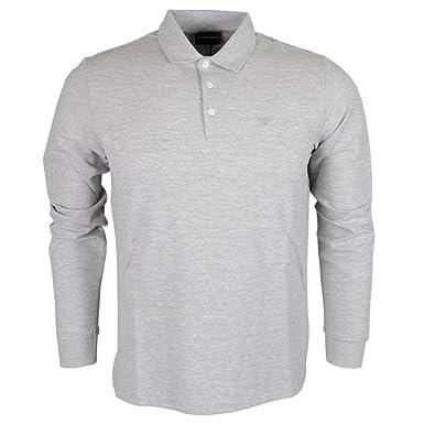 3aecf51ffec5 Emporio Armani - Polo - Homme Gris Gris  Amazon.fr  Vêtements et accessoires