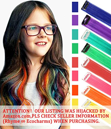 Rhyme Zting220 Ccw 9pcs Wig Pieces For America Girls And