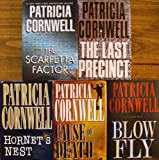 Patricia Cornwell (Set of 5 Books Hardcover)the Scarpetta Factor, Hornets Nest, Blow Fly, the Last Precinct, Cause of Death.