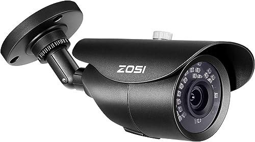 ZOSI 1080P HD 1920TVL Hybrid 4-in-1 TVI CVI AHD 960H CVBS CCTV Surveillance Weatherproof Bullet Security Camera 42PCS Infrared LED
