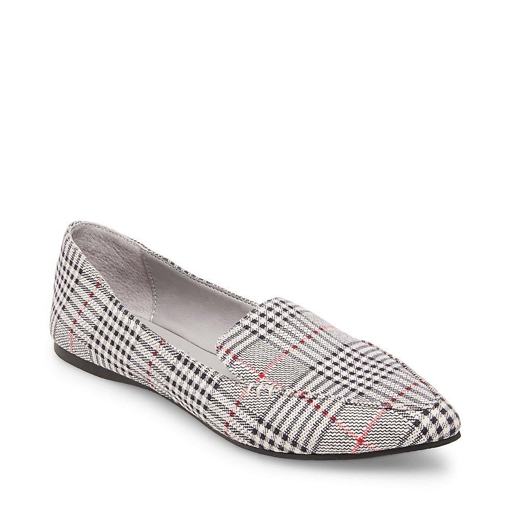Steve Madden Women's Feather Loafer Flat B07FXSDLTW 7.5 M US|Plaid