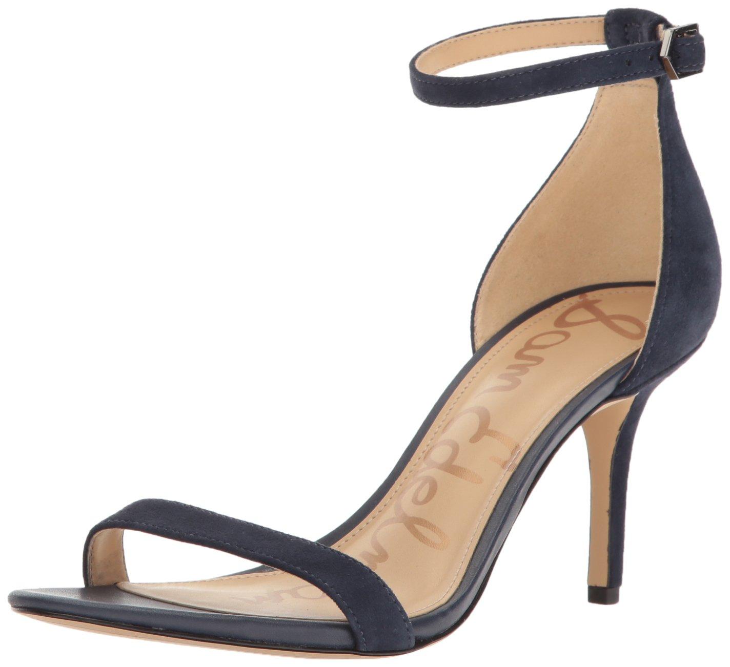 Sam Edelman Women's Patti Dress Sandal B01LY0V62D 9.5 B(M) US|Inky Navy Suede