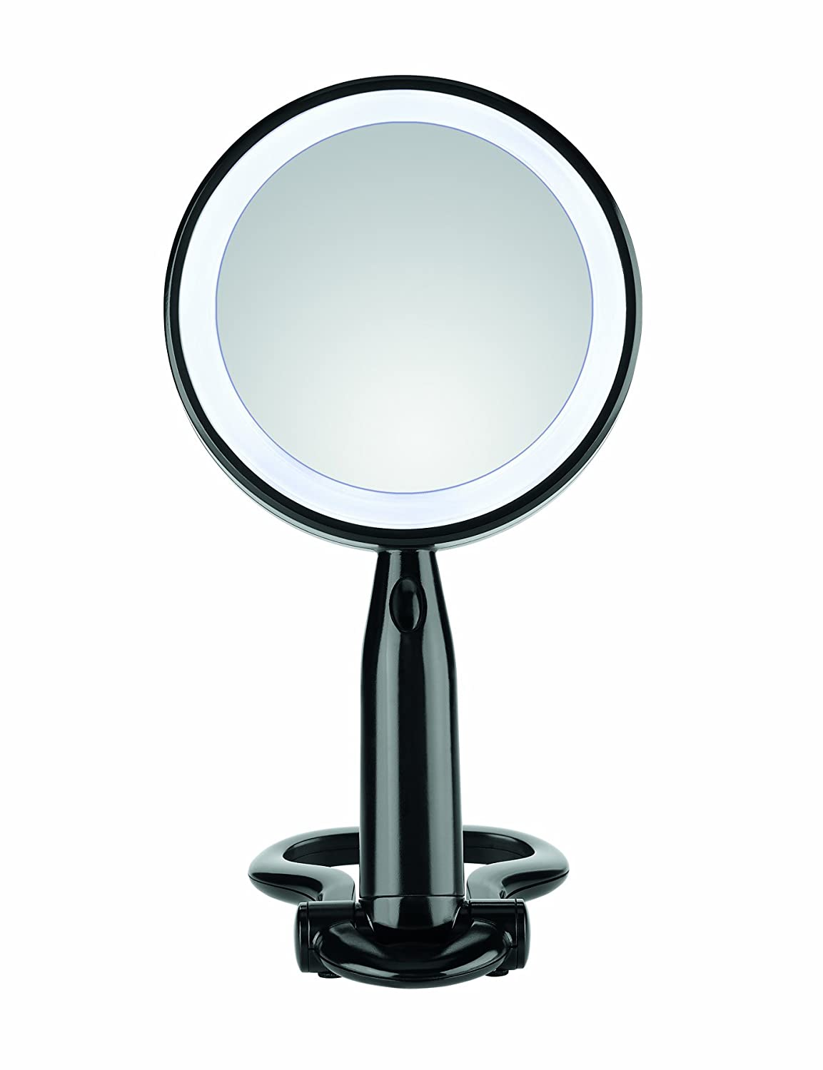 promotion mirror magnifying lighted makeup led travel sided light lighting double promotions with