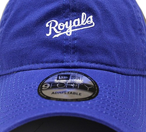 New Era 9Forty Mini Wordmark 940 Kansas City Royals blue