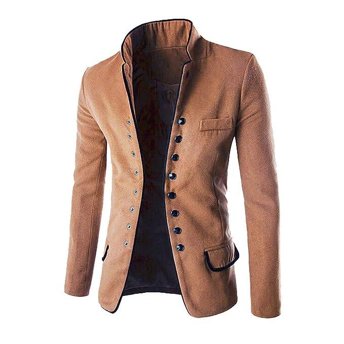 Moda Uomo Giacche Cappotti Abbigliamento Casual Giacca