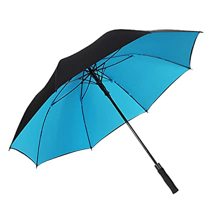 Paraguas plegables Ms Hombre automático Grande Doble capa Resistente y duradera Paraguas de negocios Refuerzo Sombrilla