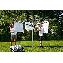 DS9 Sunshine Clothesline Outdoor Umbrella Shape Clothes Dryer