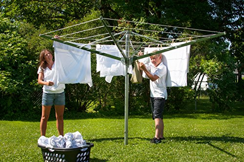 DS9 Sunshine Clothesline Outdoor Umbrella Shape Clothes Dryer