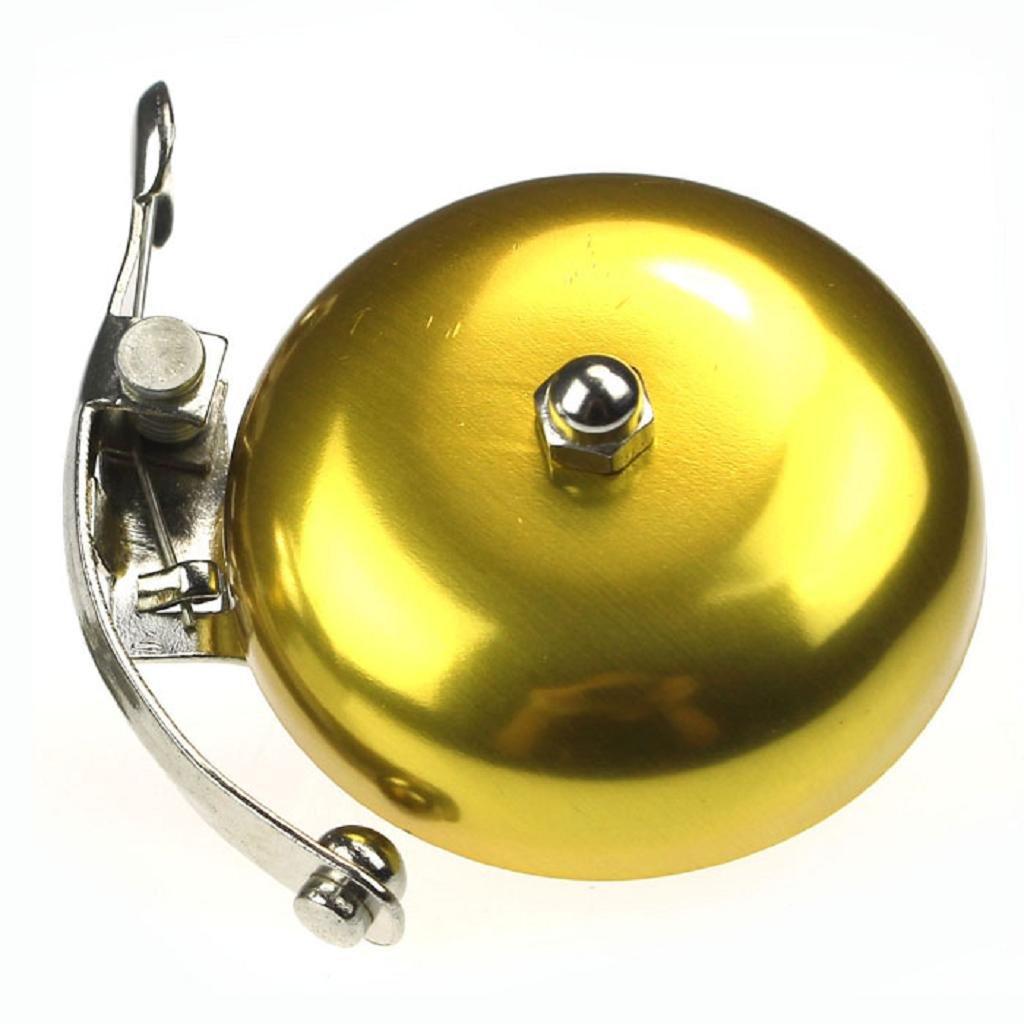 Vovotrade/® Classic Moto accesorios retro timbre de bicicleta Alarma metal manillar Horn oro
