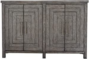 Liberty Furniture Industries Modern Farmhouse Buffet, Dusty Charcoal