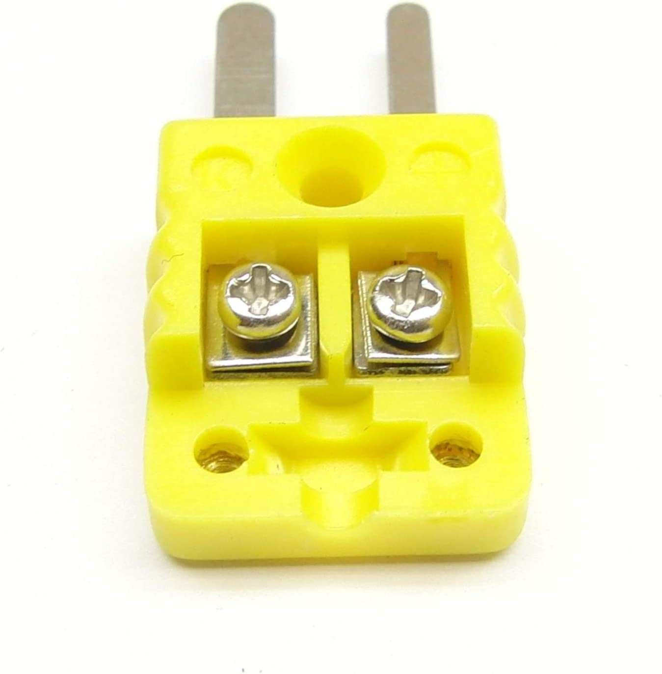 Mini K-Type Thermocouple Wire Connector Set of 10 Male Plugs