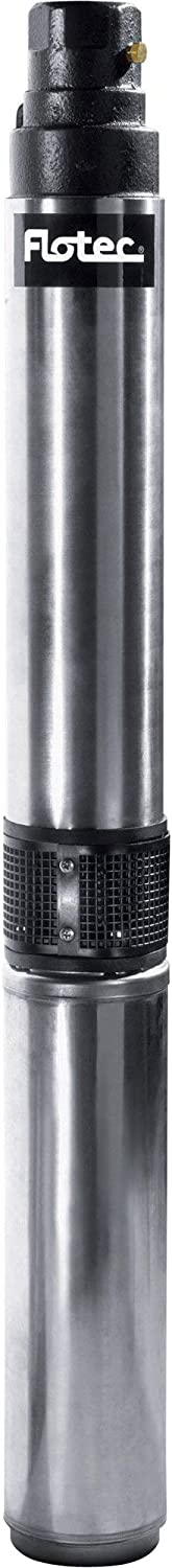 Flotec 3-Wire 4in. Submersible Deep Well Pump - 3/4 HP, 1 1/4in. Model Number FP3222-02
